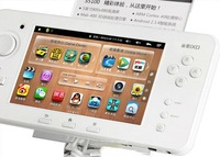 "free shipping white colour JXD S5100 Deluxe Edition 5.0"" Android Gaming Tablet PC, Handheld Console Capacitive Touch Screen"
