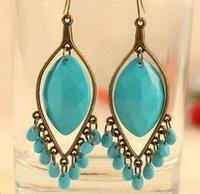 Fashion pendants gem Bohemia style earrings jewelry