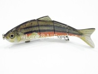 Fishing Lure 4 Segment Swimbait Crankbait Hard Bait Fresh Water Shallow Water Bass Walleye Crappie HS4 Fishing Tackle HS4X372