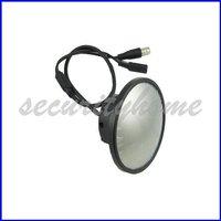 Mini 420TVL Sharp CCD Security Mirror 2.8mm Wide Angle Color CCTV Camera Free shipping
