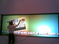 "70"" multi-touch screen / panel"