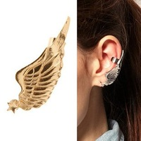 Europe and the United States retro earrings   the wings stud earrings  individuality