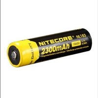 [100% new original authentic] - Nitecore NL183 2300mAh 18650 3.7V 8.5Wh high discharge performance Li-ion Rechargeable Battery