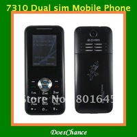 7310 1.8 inch screen Russian keyboard dual sim unlocked phone