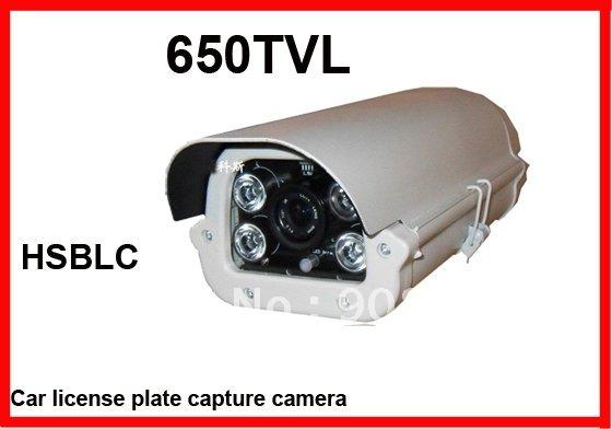Carro de segurança CCTV placa de captura licents 1/3 CCD 650TVL 9 ~ 22 mm Lens night vision até 30 m(China (Mainland))