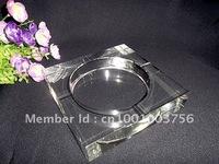 120mm crystal ashtray originality fashion promotion gift HOT decor gift