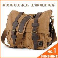 Free Shipping Hot sell+Wholesale Military  Messenger Bag Men,Laptop Shoulder Bag,Travel Duffel Canvas Bag,QSM01