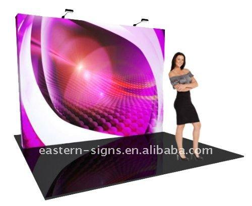 3x4 Straight Fabric Pop Up Display(China (Mainland))