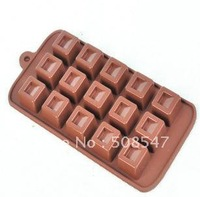 Silicone 15 Shapes square  Cake Mould chocolate mould cake tool  ice mould