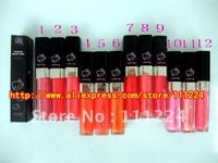 FREE DHL/EMS SHIPPING 2012 new arrival brand makeup Lip liquid color durable lipgloss Hello kitty lip gloss 10 color style