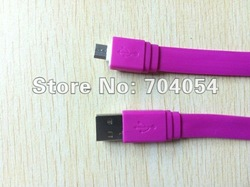 Factory Price 2000pcs/lot Micro 5Pin USB Data Cable multi-color For Samsung/ HTC/Nokia Kindle/Blackberry/LG by DHL freeshipping(China (Mainland))