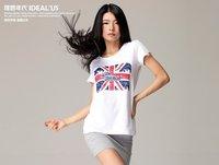 2012 London Olympic Cool Look T-shirts, Branded women/men Cotton Sports Tee Shirts TS02