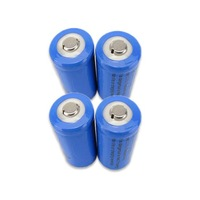 4 x  16340 CR123A Rechargeable Battery, Can replace for CR123, CR17345, K123A, VL123A, DL123A, 5018LC, SF123A and EL123AP
