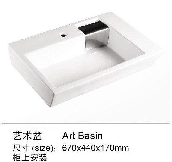 Online kopen wholesale vierkante keramische wastafel uit china vierkante keramische wastafel - Wastafel badkamer ontwerp ...