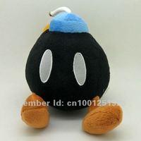 "Free Shipping Super Mario Bros Plush Doll Soft Figure BOB-OMB BOMB 7"" Retail"