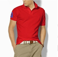 Retail/Wholesale  2012 Summer Men's Fashion designer brand Polo Cotton T-Shirts Polo Shirts in Sports design mix order