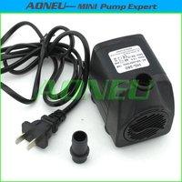 Подключите ISO 300lph 220В ~ 240v 50hz мини-бесщеточный водяной насос с регулятором потока для крытый фонтан/аквариум/охлаждения