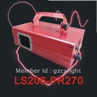Single head PR270mW for Pink Laser light with step motor