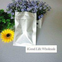 20*30cm Aluminum Foil ziplock Bag foil vacuum bag food bag 100pcs/lot  + freeshopping