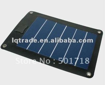 3W amorphous silicon flexible solar panel with USB socket