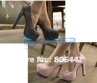 New  2012 Women's Sexy Luxury Platform Pump High Heels Shoes