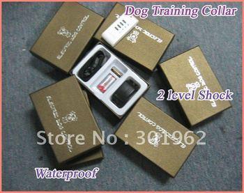 50pcs/lot  Pet Dog Training Collar, Vibration Remote Sound Control Collar, automatic pet training collar