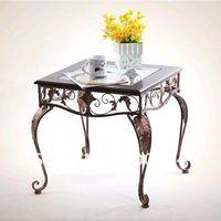 European-style iron dressing stool Stylish antique Dining chairs Siesta lounge Creative bar Chair Beach Chair