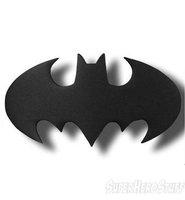 Black color batman logo belt buckle