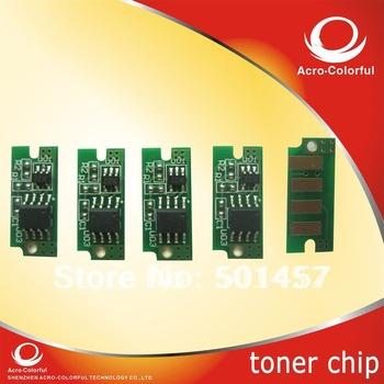 smart color laser printer reset  spare parte refilled cartridge toner chip for dell 1250 1250c 1350cnw 1355cn 1355cnw 1355