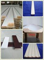 White Primed door jamb Skirting.base board  flat jamb S4S