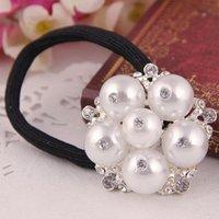 Free shipping $20 for 2015  pearl crystal spring hair clip Korean authentic Korean head ornaments