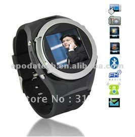 MQ998 Unlocked GSM Mobile Watch Phone Touch Screen MP3(China (Mainland))
