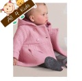 1 PCS 80/90/100 New Baby girls overcoat Coat Sweatercoat Kids Outerwear Baby Outfits Girls' Clothing free shipping