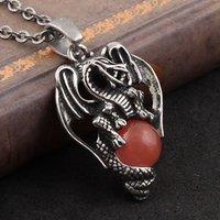 antique dragon pendant