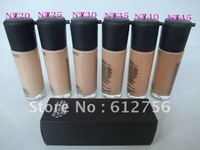 Highest quality*6 pcs /LOT 2011 NEW STUDIO FIX FLUID SPF 15 FOUNDATION FOND DE TEINT FPS 15 30 ML FREE SHIPPING