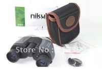 Free Shipping for Sport/Camping Nikula 10X22 Binoculars Telescope With Center Focus Adjust