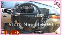 Free shipping by DHL Hot sale l!Universal Anti-Theft Steering wheel lock Security Auto lock steering lock