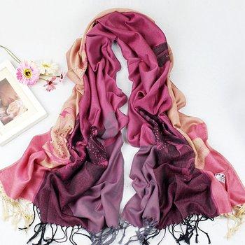 Free shipping wholesale 2012 new Fashions Women's Pashmina Acrylic scarf Wrap Shawl scarves winter shawl Pashmina scarf Y2023
