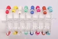 Free Shipping  New Handmade Turquoise Crystal Cross elastic Bracelet