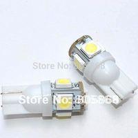 Sale Seconds Kill External Lights Free Shipping Wholesale 100pcs Car Led Lamp T10 W5w 194 5050 Smd 5 Light Bulbs