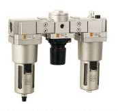 "G3/4"" / G1"" XAC5000-06/10 FRL(Filter regulator lubricator) air Combination SMC constitution"