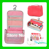 SMILE MARKET 2013 Hot selling Multi-funcation Portable and Foldable Washing bag with Pothook for Travel Outdoor