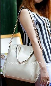 New chain handbag 2012  trends in Europe and Joker single shoulder handbag ,free shipping