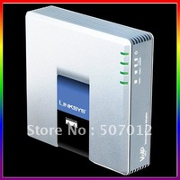 Unlocked VoIP Gateway PAP2T. Internet Phone Adapter with Two Phone Ports, Free Shipping, Wholesale and Retail