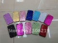 Free shipping 10pcs/lot  Bling Shining Back shell hard Case For Iphone 4 4 S For iphone 4 4s Hard Case  Promotion price