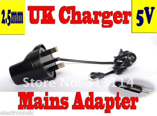Brand new top quality 5V 1.5A 2.5mm 3 Pin UK Mains Adapter/ Power Supply for Allwinner/Boxchip Android Tablet PC & EPad(China (Mainland))