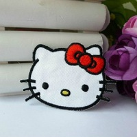 Hello Kitty Skull Embroidered Iron On Patch Applique Badge Chirldren Kids Patch 3