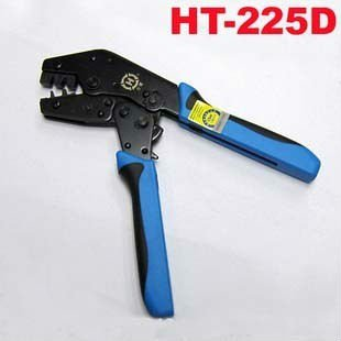 HT-225D 2.54mm Ratchet Crimp Crimper Crimping Tool for Molex PC Plug Headers Fan Free Shipping