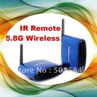 New 5.8Ghz wireless AV Audio video Sender and receiver kit system IR Remote extender A/V transceiver transimitter receiver kit