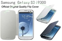 1PC Official Design Flip Cover with back battery Case For Samsung Galaxy S3 i9300,Original Quality,Perfect fit,Free shipping
